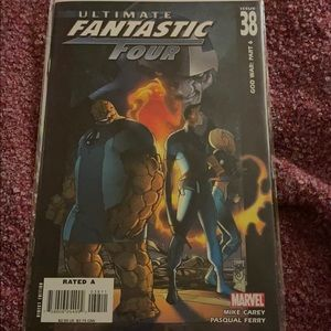 Ultimate fantastic four issue 38